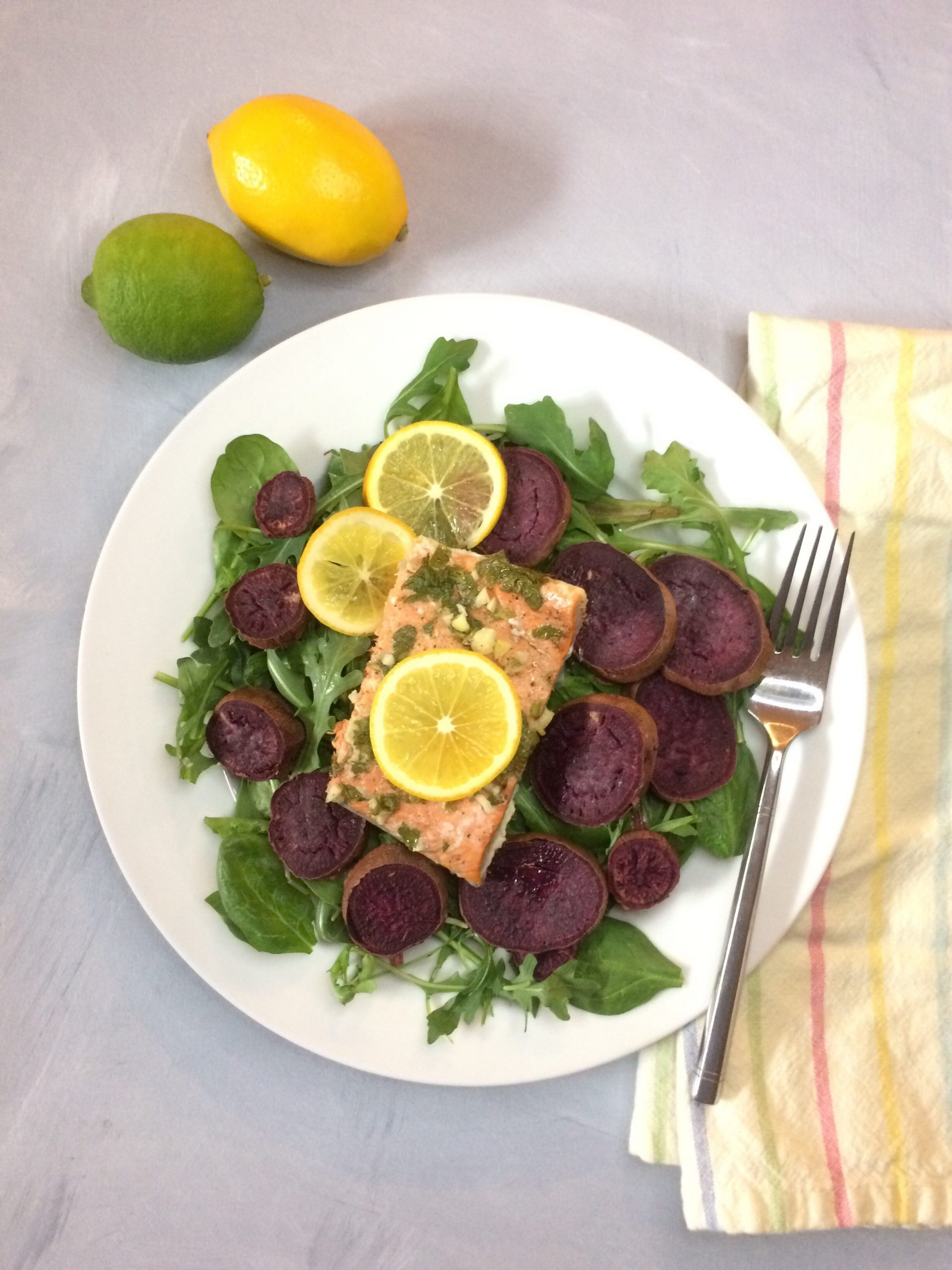 Salmon and Beets - also a source of antioxidants